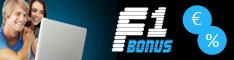 F1 Bonus - Mit Bonusaktionen Geld verdienen